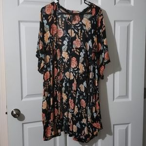 Forever 21 Floral Wrap
